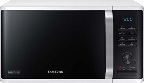 Samsung MS23K3515AW/EG Mikrowelle/48,9 cm Breite/Weiß/Quick Defrost/29 Automatikprogramme