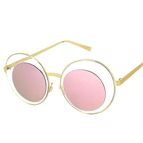 QJKai Tide-Sonnenbrillen, Street Shooting-Paar, vielseitige Sonnenbrille, Herren große Brille
