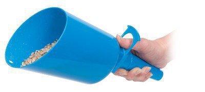 Fülltrichter für Futtergeräte blau Super Scoop