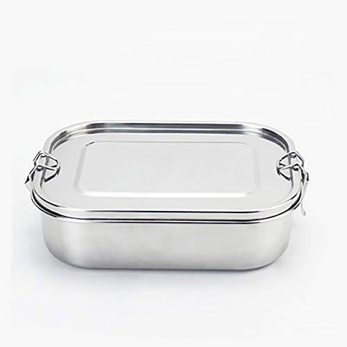 JLCP Lunchbox Multifunktions 304 Edelstahl Haben Lock-Taste Bento-Box Versiegelt Undichten Konservierungs Kasten Reise Schule Lebensmittel Speicher Box