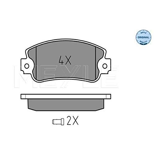 Meyle 025 209 5018/W Kit de plaquettes de frein, frein à disque