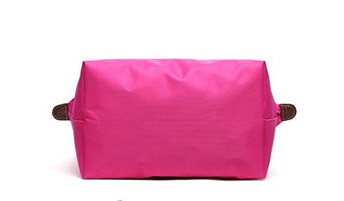 YAAGLE Handtasche Damen Nylon Schultertasche für Shopper Strand Reise Faltbar rot