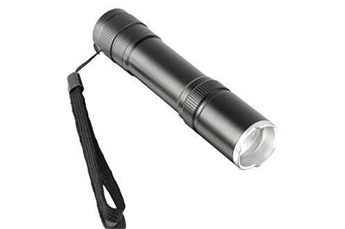 Preisvergleich Produktbild Wolfway CREE XML-T6 Wasserdichte 2000 Lumen LED-Lampe 10W 18650 Taschenlampe 5 Modi Zoomable Focus Schwarz Aluminiumlegierung Für Camping Biken Arbeiten Jagen Angeln Reiten Wandern