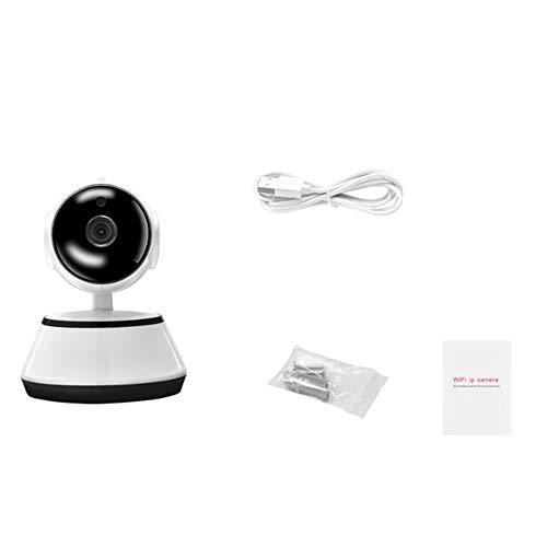 CHOULI Professionelle V380 IP Kamera Draadloze 720P Home Security CCTV Netzwerkkamera EU weiß (Professionelle Cctv-kamera)