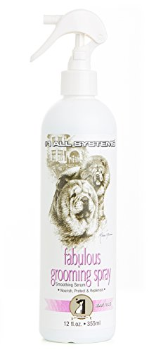 '# 1All Systems–Loción suavizante 'Fabulous Grooming Spray' para perros y gatos