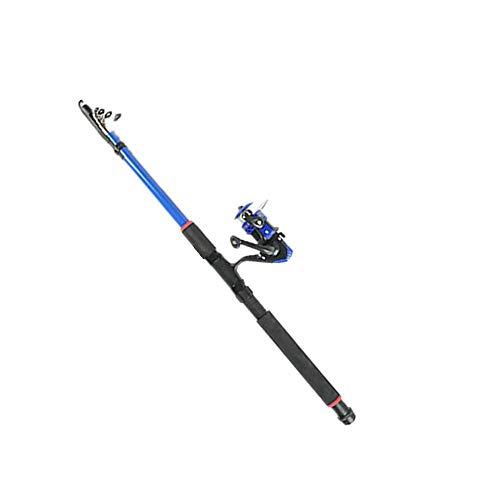 ZZBYKJ Dorade Mit Werfender Meeresrute Superharte Angelrute Long Shot Farbe 2 3.6M -