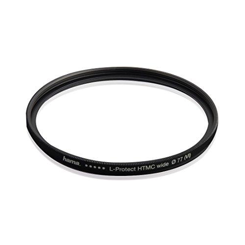 Hama UV Filter HD 77 mm Slim (Objektivschutz, 3 mm flache Metallfassung mit Frontgewinde, mehrfach vergütet HTMC, inkl. Filterbox) - Sony-imager