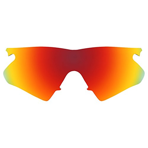 1c8b799a97f90 Revant Polarized Replacement Lenses for Oakley M Frame Heater Fire Red  MirrorShield®