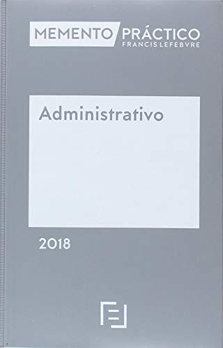 Memento Administrativo 2018 por Lefebvre-El Derecho