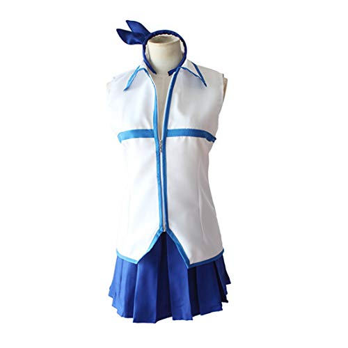RL Anime Fairy Tail Cosplay Kostüme Lucy Heartfilia Cosplay Kostüme Halloween Karneval Party Frauen Cosplay Kostüme,Full Set-L