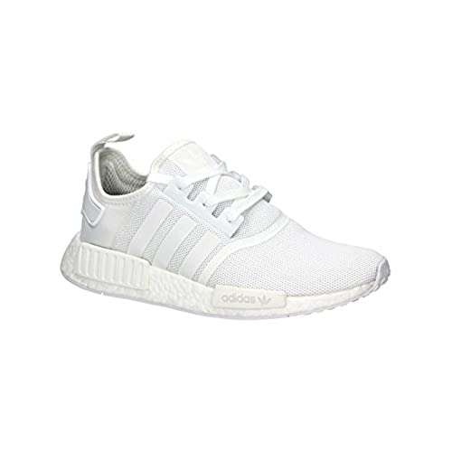 adidas Men's NMD_r1 Trainers White Size: 9 UK