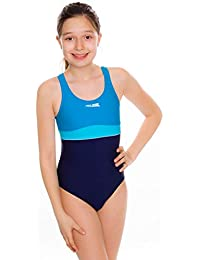 Aqua Speed Emily Badeanzug | Mädchen | Teenager | 134-164 | UV-Schutz | Elastisch | Blickdicht | Chlorresistent