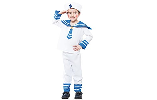 Fyasa 706158-t00 Sailor Fancy Dress Kostüm, ()