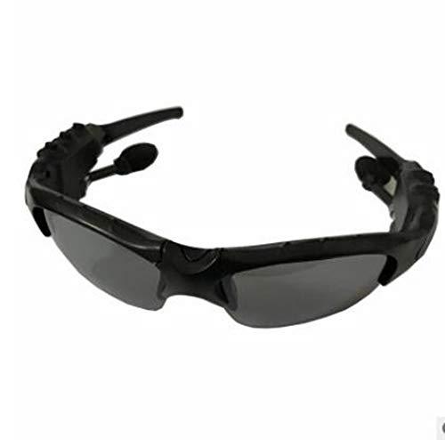 Massage Drahtlose Bluetooth-Brille Sonnenbrille Headset Sport Smart Brille für iOS/Android,Black