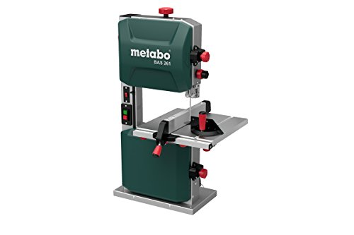 Metabo Bas 261 Precision (619008000) Band Saw, 400 W, 230 V, Verde
