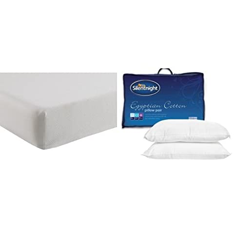 Silentnight Comfortable Foam Rolled Mattress - Small Double with Egyptian