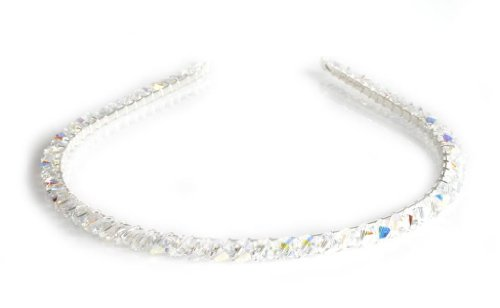 Crystal AB Sparkly Handmade Alice Head Band Made With SWAROVSKI ELEMENTS