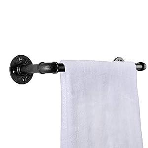 Toallero industrial para montaje en pared, toallero de baño para barra de almacenamiento, perchero e industrial.