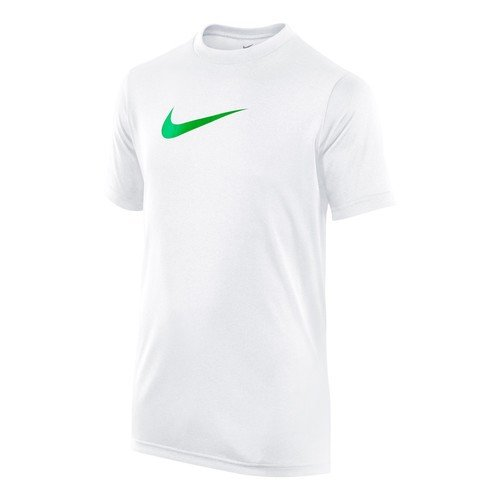 Nike Legend - T-shirt da donna Blanco / Verde (White/Spring Leaf)