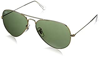 Ray-Ban - Lunette de soleil Aviator Large Metal Aviator , Gold (L0205 Gold) (B00080FK2U) | Amazon Products