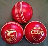 #10: Aaina - ARFA Club- Red Cricket leather ball in 4 cups for junior practices.