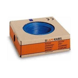 ADERLEITUNG blau H0 7 V-K 1 X 6 mm², Meterware