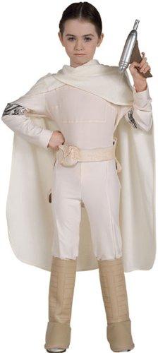 Star Wars Padme Amidala Deluxe Kostüm für Kinder, Größe:L (ca. (Kostüm Amidala Königin Halloween)