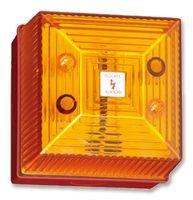 VISUAL SIGNAL INDICATOR, AMBER, IP65 FL40/D50/A/RN By CLIFFORD AND SNELL Visual Signal Indicator
