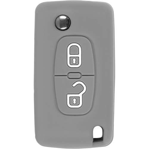 PhoneNatic Funda Silicona Mando 2 Botones Peugeot