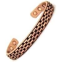 Magnetisches Armband in Kupfer mit Magneten - Yucca Modell preisvergleich bei billige-tabletten.eu