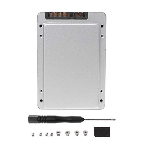 Anjuley Micro SATA HDD SSD Adapter Caddy für Festplatte SATA 1,8 bis 2,5 Externe HDD-Gehäuse -