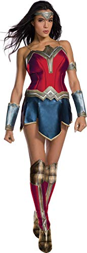 Rubie's 820654S Wonder Woman Kostüm, Damen, - Womens Wonder Woman Kostüm