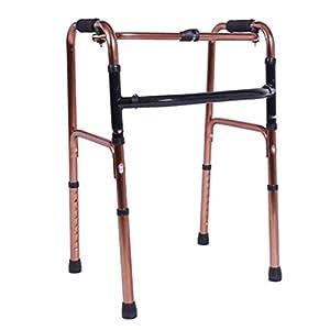 WZHWALKER Gehhilfe Für Ältere Menschen, Rutschfeste Gehhilfe Aus Aluminiumlegierung, Unterstützter Rehabilitationsassistent