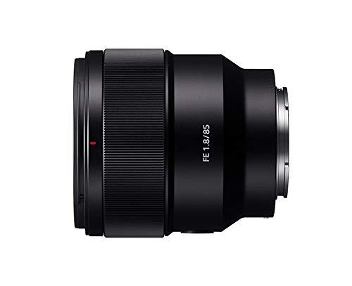 Sony SEL-85F18 | Obiettivo a Focale Fissa 85mm F1.8, Full-Frame, Attacco E, SEL85F18