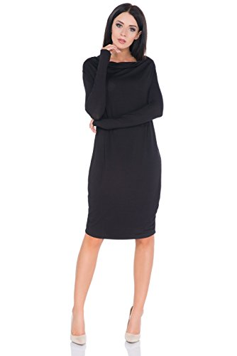 FUTURO FASHION - Robe - Pull - Femme Noir