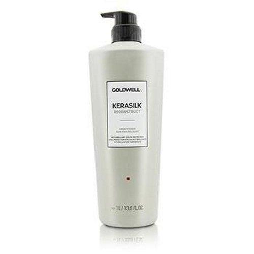 Shampoo, Conditioner, Farbe Behandelt Haar (Goldwell Kerasilk Reconstruct Conditioner, 1er Pack (1 x 1 l))