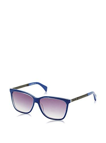 Just cavalli jc652s, occhiali da sole unisex-adulto, grigio (blue/black), taglia unica (taglia produttore: one size)