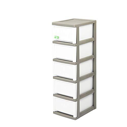 C-Bin-1 Wirklich nützliche mehrschichtige Aufbewahrungsbox, Unterwäsche Socke Aufbewahrungsbox Halle Wohnzimmer Schublade Typ Box Zwei-Ton Die täglichen Erfordernisse (Color : Gray White) -