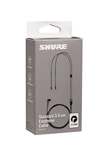 Shure EAC64BK Ersatzkabel für SE Ohrhörer, 162 cm, schwarz - 3