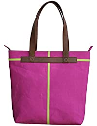 Neonia Pink Canvas Tote Bag For Girls (Nia-Tote-4)