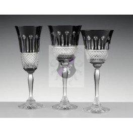 Cristal de Paris - COFFRET 6 VERRES N 7 YVAN NOIR - Cristal de Paris - 12618
