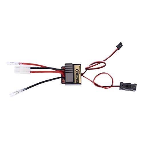 Hemobllo 320A Hochspannung ESC Bidirektionale Gebürstet Elektrische Drehzahlregler für RC Auto Lkw Boot