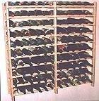Vinland 120 Bottle Wine Rack, 12 wide by 10 high, Garden, Lawn, Maintenance by Garden-Outdoor