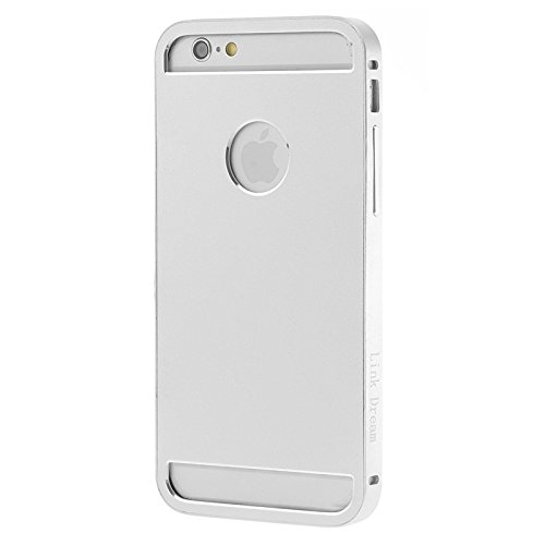 wkae Schutzhülle Case & Cover Link Dream Fashion Metall Schutzhülle für iPhone 6 silber