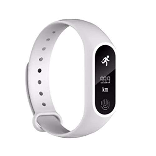 LRWEY Fitness Armband mit Pulsmesser, M2 Sport Pedometer Smart Armband Herzfrequenz Bluetooth 4.0 Smart Uhr, für iOS Android