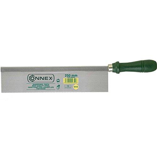 Connex Feinsäge 250 mm gerade, Zahnung geschliffen und gehärtet, COX809250