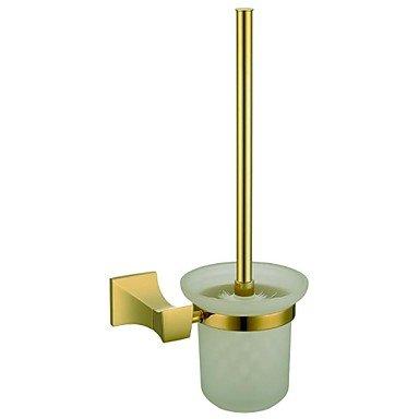 XYZHF *Sur les murs antiques toilettes en laiton massif porte-balais (Ti-PVD Terminer)67006