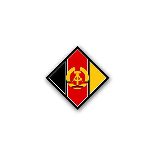 Aufkleber/Sticker Nationale Volksarmee NVA Armee DDR Wappen 7x7cm A1842