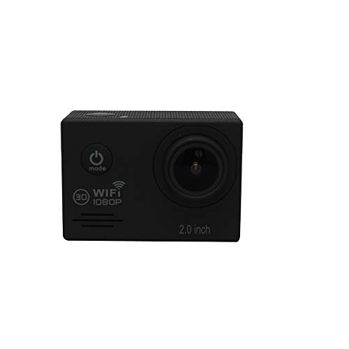 TOPmountain 4K 1080P WiFi Action Camera Waterproof Digital Camera,2.0 LCD WiFi Camcorder 1200 Million Sports Camera-Black