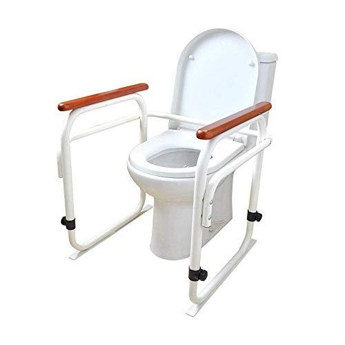 WC-Reling Stand Alone - medizinischer Hilfsrahmen für das Badezimmer mit Haltegriffen und Geländern für schwangere ältere Menschen mit Behinderungen